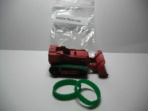 NEW TREADS! Matchbox #58B DROTT EXCAVATOR GREEN REPLACEMENT TREADS A PAIR