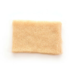 Newborn Baby Mohair Crochet Knit Wrap Cloth Photography Props Baby Photo .f HS