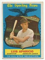 LUIS APARICIO 1959 Topps Baseball All-Star card #560 Chicago White Sox VG