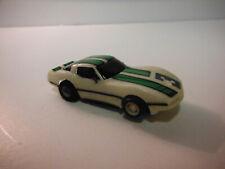 NOS,Tyco,440, Corvette glow,n,dark 2nd Slot Car HO.track tested,*NICE*