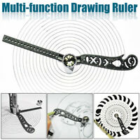 Stainless Steel Magnetic Drawing-Ruler Multi-Function Measurement Tool For EDC