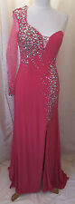 CORAL Dress Prom Sexy Ball Gown Party Gala Prom Evening Pageant Cocktail SZ 16