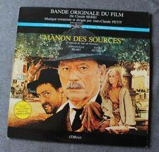Manon Des sources - Jean Claude Petit , BO du film / OST, LP - 33 tours