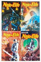 Ninja Elite #1-4 (1987 Adventure Publishing Comics) VF/NM