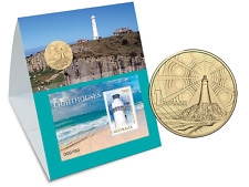 2016 Lighthouses Stamp imperf minisheet and coin set Limited Edition of 150