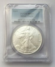 2005 SILVER EAGLE PCGS MS69 ONE DOLLAR COIN