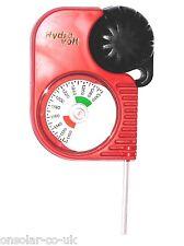 Pro HYDROVOLT Hydro voltios Hidrómetro electrolito Probador de Batería de plomo-ácido
