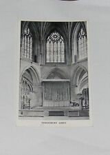 Gloucestershire - Tewkesbury Abbey - Old Postcard