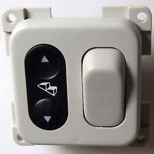 STEP & LIGHT SWITCH  for CBE C-LINE 12V SYSTEMS CARAVAN MOTORHOME LIGHT GREY