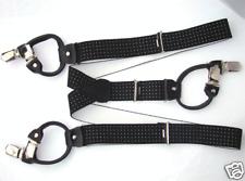 Nero Punti Bretelle 6 Taglio 120cm Suspender