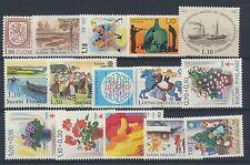 Finnland Jahrgang 1981 postfrisch in den Hauptnummern kompl....................