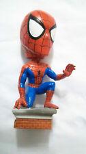 Marvel Comics 2001 SPIDERMAN Kneeling Bobblehead Head Knocker BD&A 8 inch