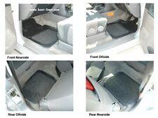 Mitsubishi Pajero/Shogun GLS Rubber Car Floor Mats with Grey Carpet Inserts