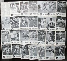 1981 82 JOGO CFL Canadian Football League Cards U PICK