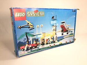 LEGO System Vintage Town International Jetport 6396 (1990) Pre-Owned