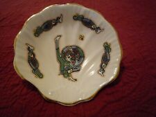 Royal Tara Candy Oyster Trinket Soap Shell Scalloped Dish Book of Kells Letter H