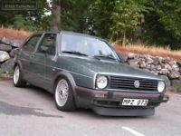 For VW Golf MK2 / Jetta 2 small Front bumper spoiler Splitter Duckbill GTI