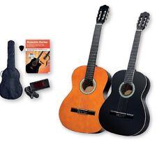 Guitarra Acústica Clásica Con Conjunto de 6 piezas, sintonizador de Clip incl.