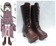 Vocaloid Miku Senbon Sakura Cosplay Costume Boots Boot Shoes Shoe UK