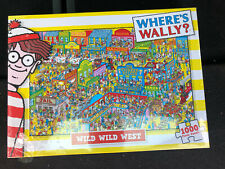 Where's Wally Wild West - 1000 pieces Jigsaw Puzzle - Paul Lamond New Sealed Boc