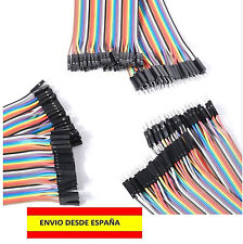 12 CONECTORES ELÉCTRICOS DUPONT 4 MACHO MACHO, 4 HEMBRA HEMBRA, 4 MACHO HEMBRA
