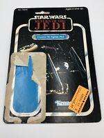 Imperial Tie Fighter Pilot Star Wars ROTJ Card Back KENNER 1983 Vintage Cardback