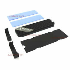 More details for m.2 pcie/nvme ngff ssd cooling heatsink 2280 aluminum m2 heat dissipation