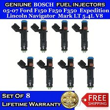8x UPGRADE OEM Bosch Fuel Injectors for 05-07 Ford F150 F250 F350 Navigator 5.4L