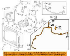 Scion TOYOTA OEM 11-15 tC AC A/C Air Conditioner-Liquid Line 8871021200