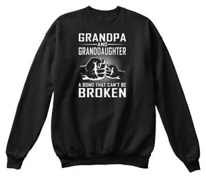 Easy-care Grandpa And Granddaughter Hanes Hanes Unisex Crewneck Sweatshirt