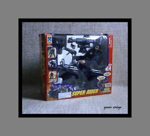 SUPER RIDER & ATV MISB B/O R/C POWER MISSION China Black Vintage 90s Rare