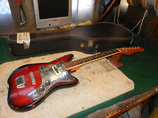Vintage teisco / Kent Electric guitar good action Made In Japan