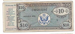 Series 472 10  Dollars VF