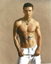 JUSTIN TIMBERLAKE HAND SIGNED SHIRTLESS 8X10 PHOTO W/COA N'SYNC MAN OF THE WOODS