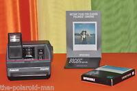Sofortbildkamera Polaroid Impulse mit Gewährleistung +Farbfilm Impossible 600