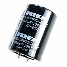 2PCS RIFA 63V 10000UF AUDIO Electrolytic Capacitor 105°C 35x51mm #E180 YX