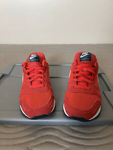 Nike Air Waffle Trainer Crimson Red Light Bone Nightshade Grey Men 10.5 Max Zoom