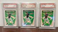 3 CARDS - 1993 Topps #98 Derek Jeter New York Yankees RC Rookie HOF PSA 9 MINT