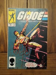 """Marvel G.I. JOE #21 (1984) 1st Appearance of Storm Shadow """"Silent Issue"""" VG+/FN-"""