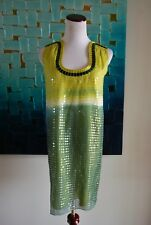 Max Studio Special Edition dress lots of sequins green size XS