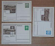 3 Bildpostkarten Bund Friedrichshafen IBO, gut erhalten, siehe Foto.