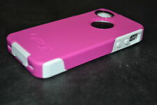 OtterBox Commuter Series Case For iPhone 4/4S Hot Pink/white Cover Fitted 2E