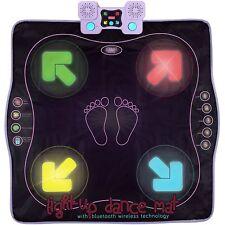Light Up Dance Mat, Arcade Style Dance Games + Built In Music Tracks & Bluetooth