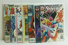 Lot of 7 Spider-Man: Marvel Comics Group, Marvel Tales, Pursuit, Lost Years
