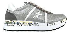 PREMIATA scarpe sneakers donna CONNY_4506 argento