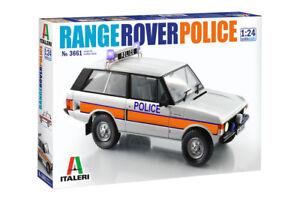 Police Range Rover Kit ITALERI '1:24 IT3661