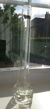 Vintage German Ingrid dimpled art glass vase