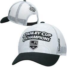 Los Angeles Kings 2014 Stanley Cup Champs Mesh Trucker Hat / Cap #341437