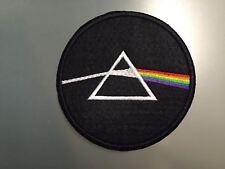 """PINK FLOYD THE DARK SIDE OF THE MOON - Embroidered Iron On Patch 3 """""""