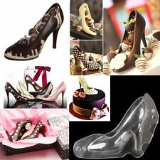 3D High Heel Shoes Silicone Fondant Chocolate Cake Decorating Sugarcraft Mould